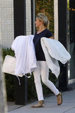 Cameron Diaz carried shopping bags while out in California.