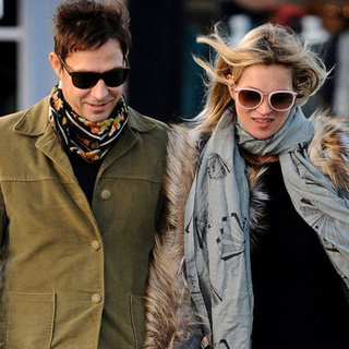 Kate Moss and Jamie Hince Walking in London | Pictures