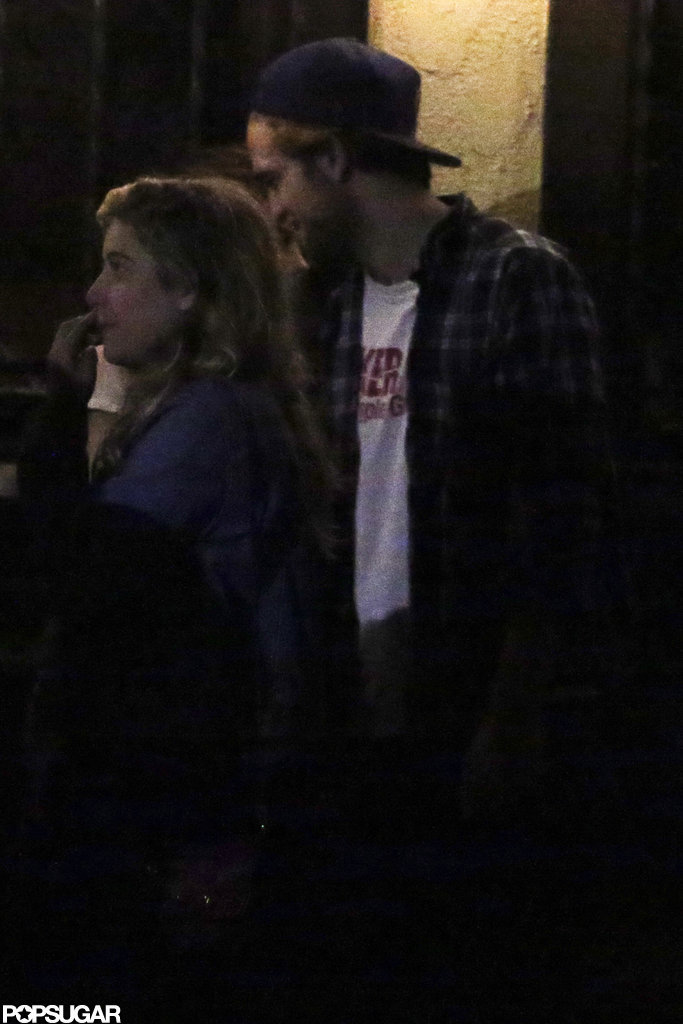 All the Pictures of Rob and Kristen's PDA Reunion