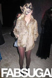 Kristen Dunst channeled looked foxy at a 2011 Halloween party in LA.