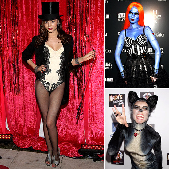 Miranda Kerr, Heidi Klum, Lauren Conrad and More Celebs Show Off Their Halloween Costumes