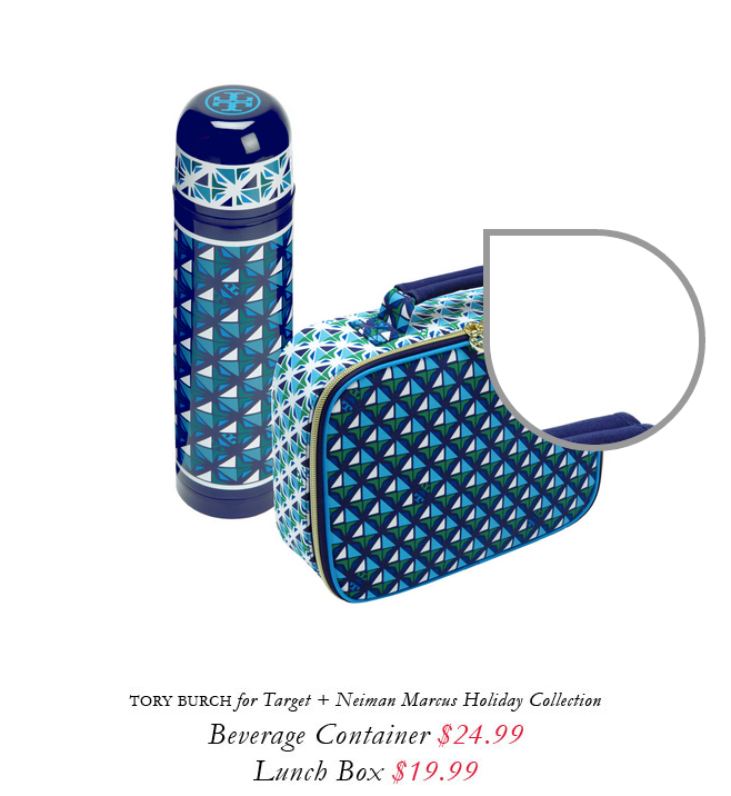 Tory Burch for Target + Neiman Marcus holiday collection.