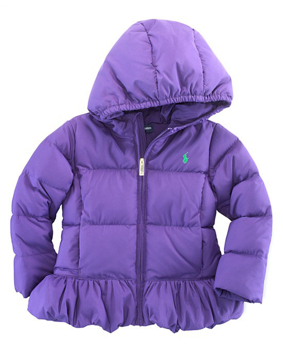 Ralph Lauren Hooded Down Jacket