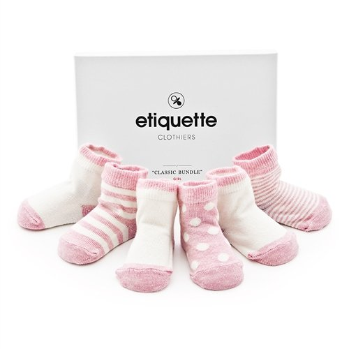Etiquette Classic Girl Sock Bundle