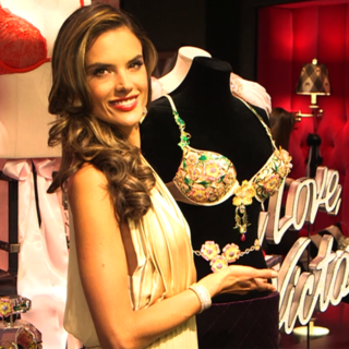 Alessandra Ambrosio and the Fantasy Bra | Video