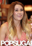 Lauren Conrad continued her book tour in Philadelphia.