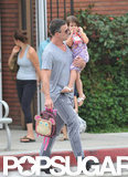 Freddie Prinze Jr. and his daughter Charlotte walked to school together in LA.