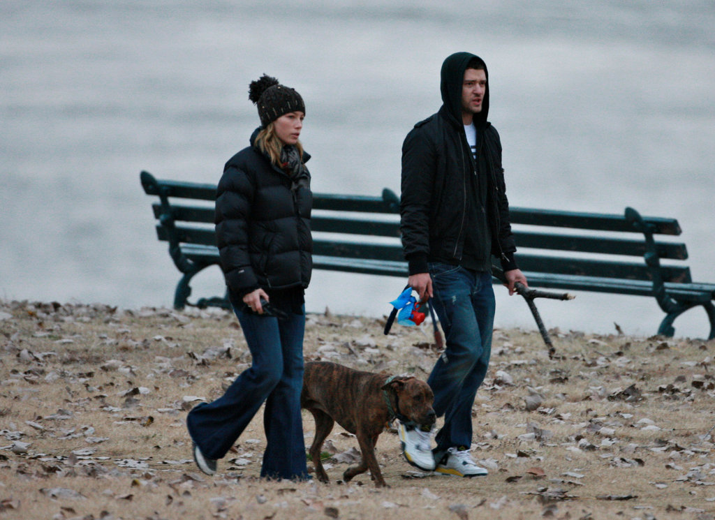 Justin Timberlake and Jessica Biel visited Memphis in December 2008.
