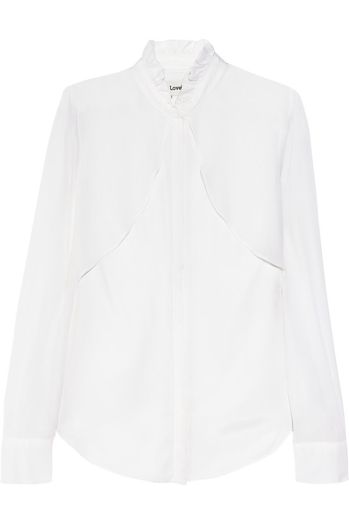 The Classic White Silky Blouse
