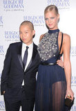 Erin Heatherton posed with Jason Wu at the NYC celebration.