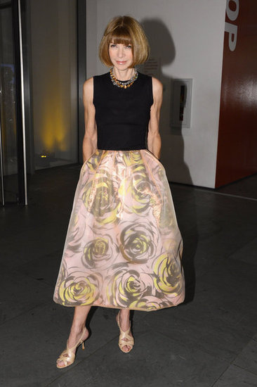 Anna Wintour attended WSJ Magazine's Innovator of the Year Awards in NYC.