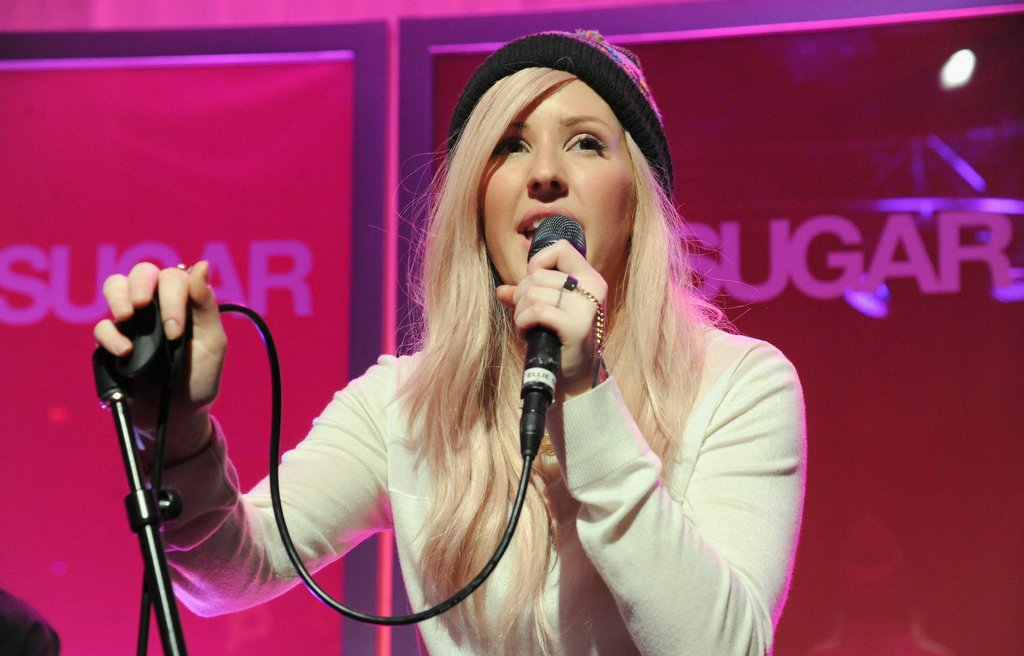 Ellie Goulding gave a stunning performance as she sang music from her latest release, Halcyon.