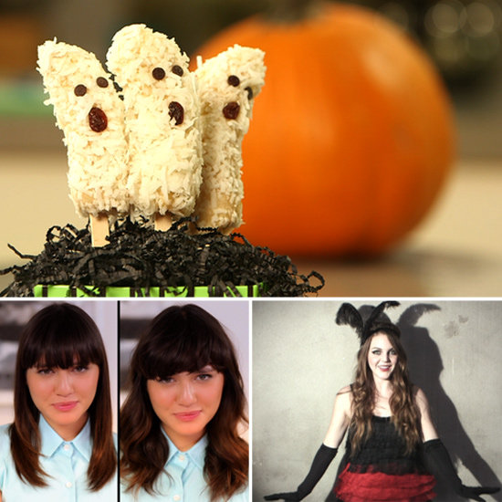 4 Ways to Style Bangs & Spooky Halloween Treats: The Best of PopSugarTV This Week!