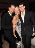Stefano Tonchi, Linda Fargo, and Roberto Bolle showed off their stylish party wares.