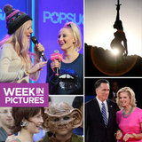 Ellie Goulding Performs at PopSugar, Romney Talks Binders, and Trekkies Unite