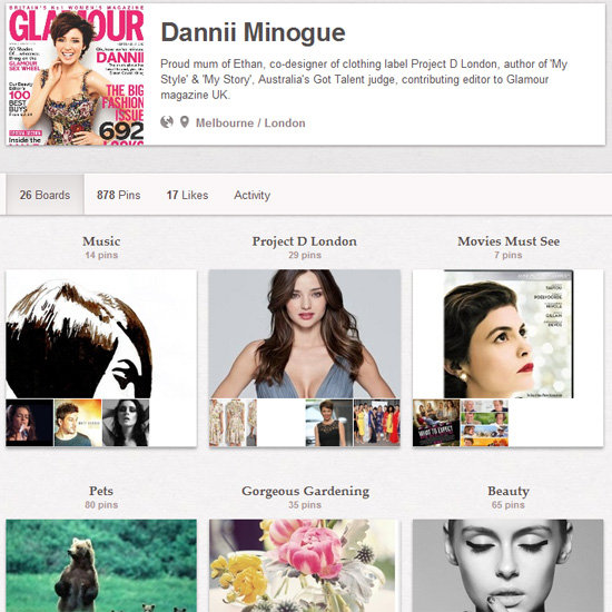 Dannii Minogue on Pinterest