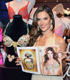 See Alessandra Ambrosio and her Victoria's Secret Fantasy Bra