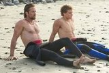Gerard Butler and Jonny Weston, Chasing Mavericks