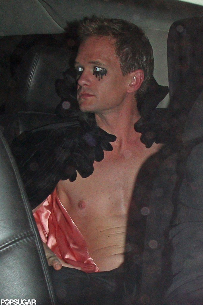 Neil Patrick Harris wrapped up his Halloween night at Bootsy Bellows in LA Saturday.