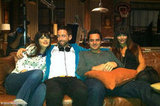 Director Neal Brennan took a group picture with the cast of New Girl. Source: Neal Brennan on WhoSay