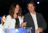 Julia Roberts and her husband Danny Moder took the stage during a fundraiser for Heal the Bay in Santa Monica in May 2012.