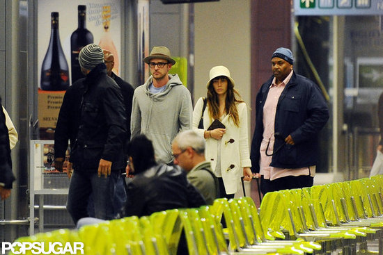 Justin Timberlake and Jessica Biel Take Off as Newlyweds