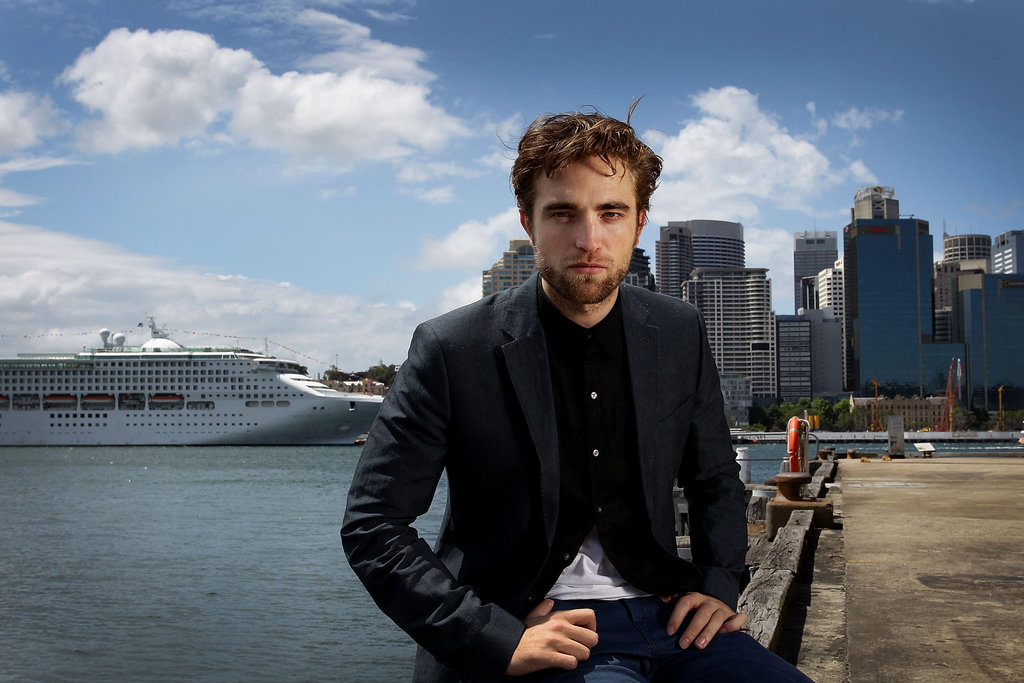 Robert Pattinson posed for photos while promoting Breaking Dawn Part 2 in Sydney.