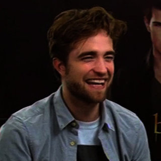 Robert Pattinson Starts Breaking Dawn Part 2 Promotion