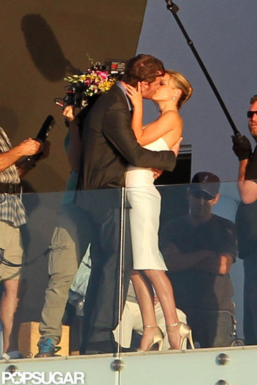 Natalie Portman and Michael Fassbender Shoot a Sexy Wedding Scene