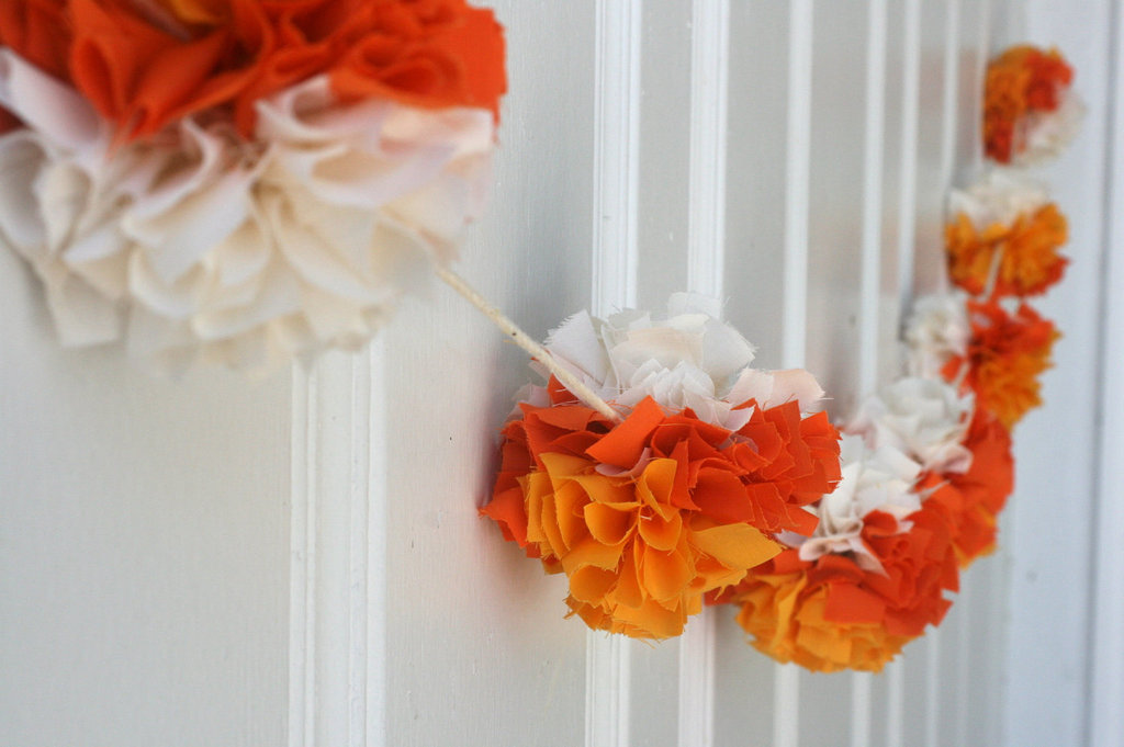 Deck the Halls With Pumpkin Orange