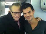 Larry King declared his support for Team Jacob. Source: Twitter user kingsthings