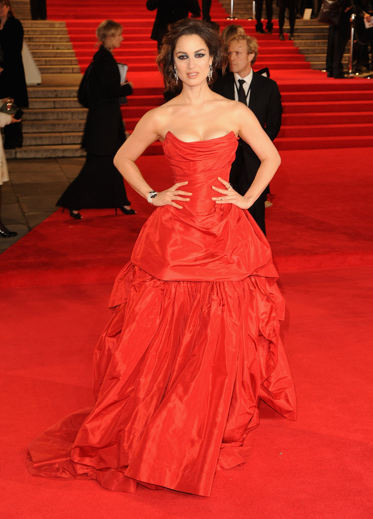 Bérénice Marlohe stepped onto the red carpet for Skyfall's London premiere.