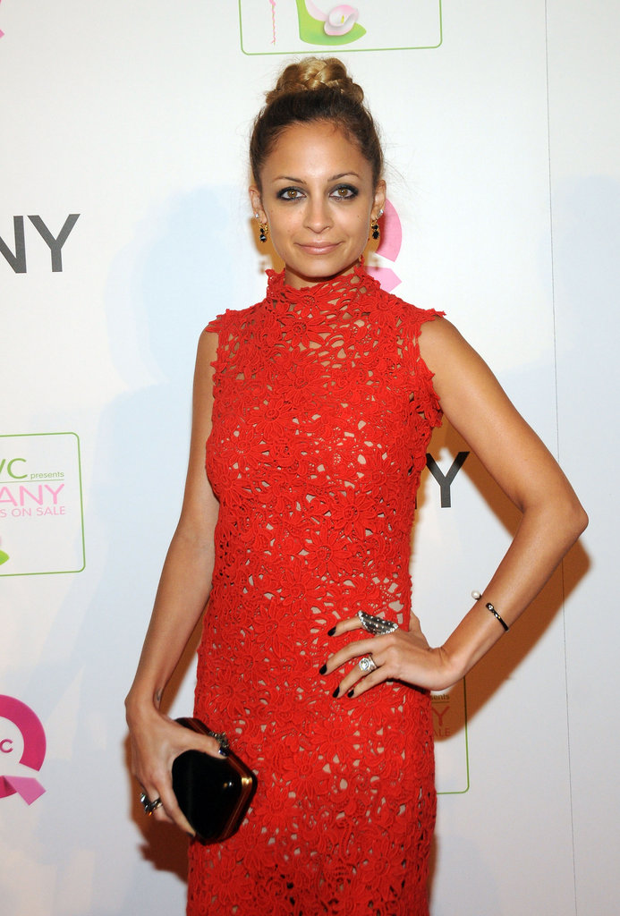 Nicole Richie attended a QVC event at the Waldorf-Astoria Hotel in NYC.