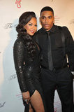 Ashanti and Nelly attended the Angel Ball in New York City.