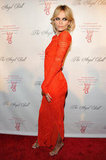 Natasha Poly attended the Angel Ball in New York City.
