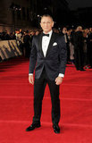 Daniel Craig was dapper in a tux for Skyfall's London premiere.