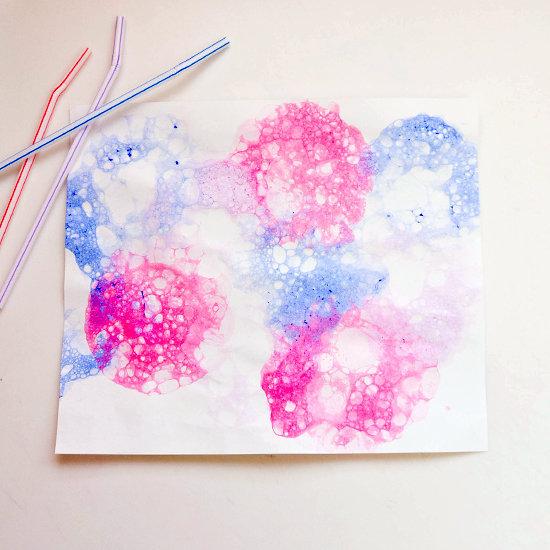 Blow a Bubble Paint Creation