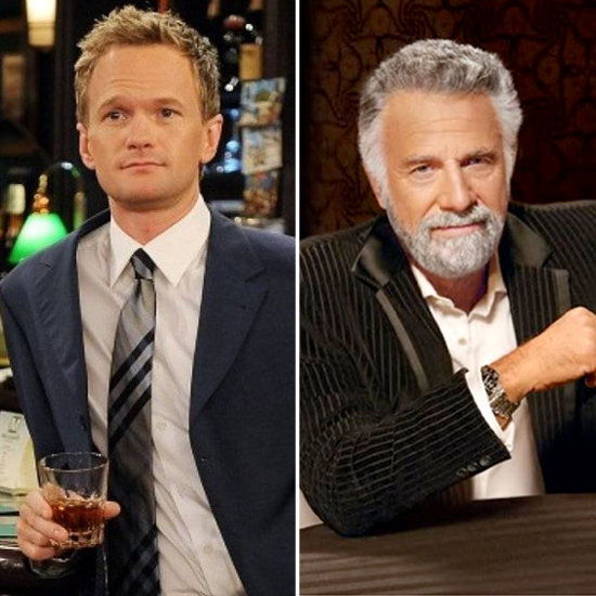 Barney From How I Met Your Mother as the Dos Equis Man