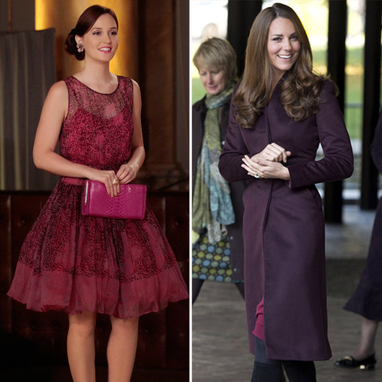 Blair From Gossip Girl as Kate MIddleton