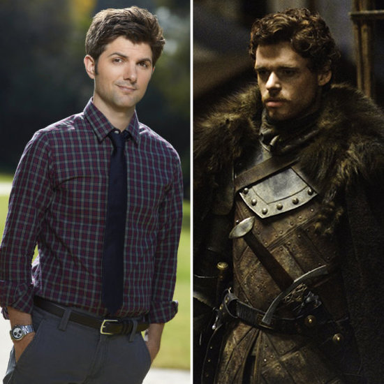 Ben From Parks and Recreation as Robb Stark