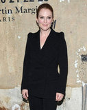 Julianne Moore chose black for the event in NYC.