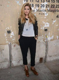 Doutzen Kroes posed for photos at the launch of Maison Martin Margiela for H&M in NYC.