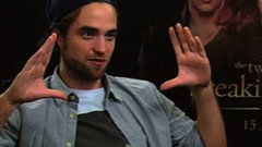 "Video: Robert Pattinson Talks ""Ridiculous"" Breaking Dawn Sex Scene!"