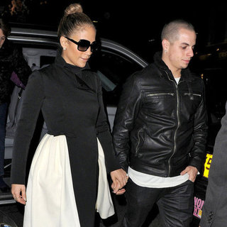 Jennifer Lopez and Casper Smart Holding Hands in London