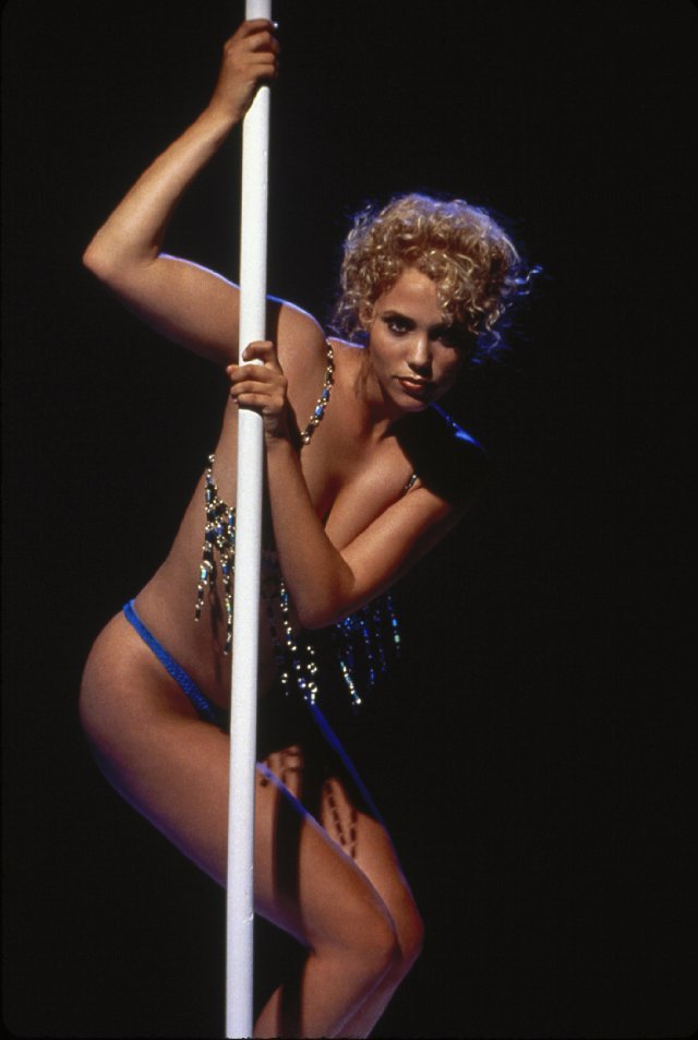 Elizabeth Berkley as Nomi Malone in Showgirls, 1995