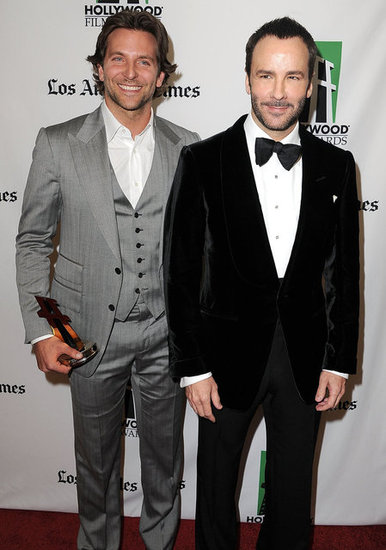 Bradley Cooper and Tom Ford