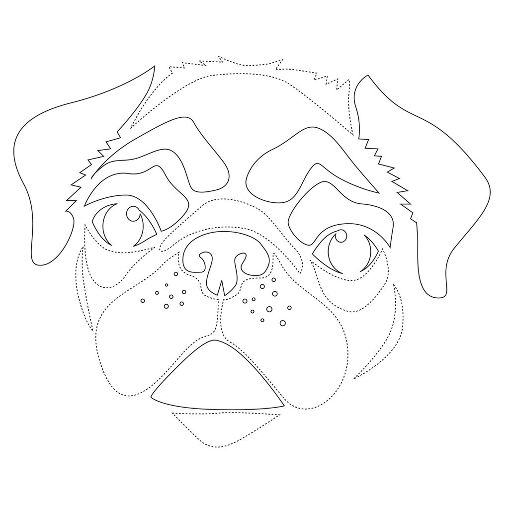 - Stencils Dog Bre...