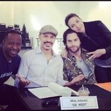 Whitney Cummings tweeted a table read with her old Comedy Store alums. Source: Instagram user therealwhitney
