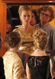 Nicole Kidman filmed a scene for her latest movie.