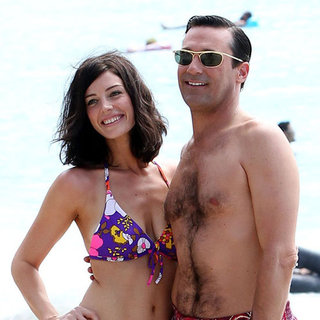 Jon Hamm Shirtless in Hawaii For Mad Men | Video
